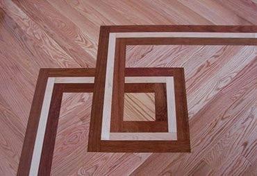pattern on floor Schuamburg