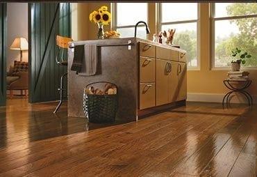 wooden floor in kitchen Palatine