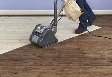 Sanding-floor